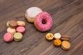 Sweets, background, Macaron