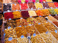 Sweets at market Royalty Free Stock Photography