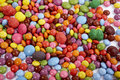 Sweets mixed selection multi colored background sweet food Royalty Free Stock Photo