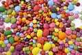 Sweets mixed selection multi colored background sweet food Royalty Free Stock Image