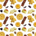 Sweets Seamless Pattern Royalty Free Stock Photo