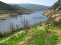Sweetwater Resevoir Cleveland National Forest Stock Photography
