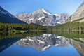 Swiftcurrent Lake in Glacier National Park, Montana Royalty Free Stock Photo