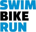 Swim bike run triathlon