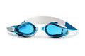 Swim goggles or glasses isolated on a white background Royalty Free Stock Photography