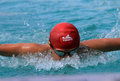 Swimmers are following the swimming competitions in the city of solo central java indonesia Royalty Free Stock Photos