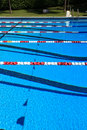 Swimming competition Pool Stock Image