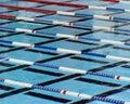 Swimming Lanes Royalty Free Stock Photos