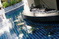 Swimming pool bar Royalty Free Stock Image