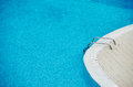 Swimming pool with clear blue water Stock Photo