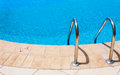 Swimming pool detail generic for a flexible use on travel and turistic brochures Stock Image