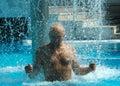 Swimming Pool Extasy Royalty Free Stock Photo