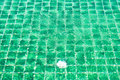 Swimming pool floor. Royalty Free Stock Images