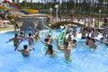 Water Aerobics Royalty Free Stock Photo