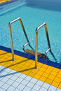 Swimming pool health and relaxation enjoy summer in the Royalty Free Stock Image