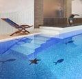 Swimming pool interior Stock Photography