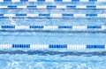 Swimming Pool Lanes Royalty Free Stock Photos