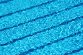 Swimming pool lanes Royalty Free Stock Photo