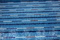 Swimming pool with lanes for swimming competitions Royalty Free Stock Photo
