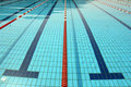 Swimming pool lines & water Stock Image