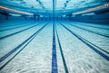 Swimming pool photo under water Royalty Free Stock Photos