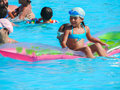 Swimming pool in sharm el sheikh egypt nov happy people enjoying bath time infinity Royalty Free Stock Photography