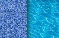 Swimming pool and tile ideal for backgrounds Royalty Free Stock Photo