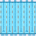 Swimming Pool Top View Flat Pictogram Royalty Free Stock Photo