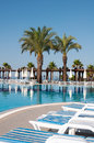 Swimming pool, Turkey Stock Photos