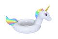 Swimming ring in shape of unicorn with clipping path