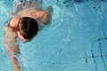 Swimming training Royalty Free Stock Photography