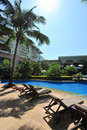 Swimmingpool in Boao 2 Lizenzfreie Stockfotos