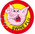 Swine flu virus Royalty Free Stock Photos