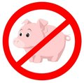 Swine virus Royalty Free Stock Photography
