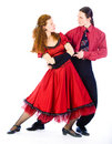 Swing dancers Royalty Free Stock Photos