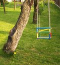 Swing for kids Royalty Free Stock Photo