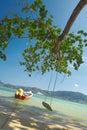swing oceanu Obraz Royalty Free