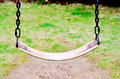 Swing seat green grass Stock Images