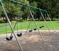 Swing Set Royalty Free Stock Photo
