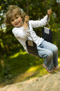 Swinging Royalty Free Stock Images