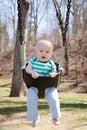Swinging  Baby Royalty Free Stock Photo
