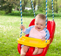 Swinging fun Stock Images