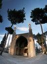 Swinging minarets Royalty Free Stock Photo