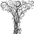 Swirl Arrow Tree Royalty Free Stock Photography