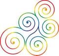 Swirl design Royalty Free Stock Photo