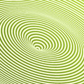 Swirl a green spiral spinning background Stock Photography
