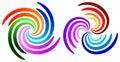Swirl logos