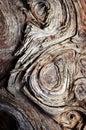 Swirl pattern on old wood