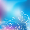 Swirl Purple Blue Background Royalty Free Stock Images