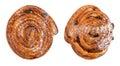 Swirl spiral bun Royalty Free Stock Photo